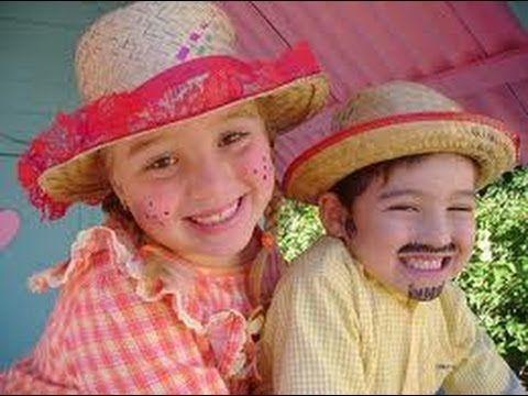 Fique Mais Linda: Maquiagem Para  Crianças - Festa Junina: