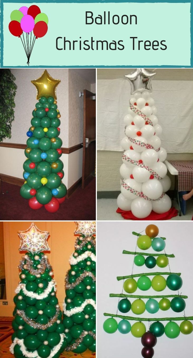 40 Alternative Christmas Tree Ideas For 2019 Diy Christmas Tree Ideas Christmas Balloon Decorations Christmas Balloons Alternative Christmas Tree