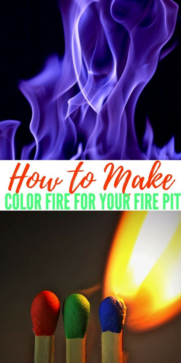 How To Make Color Fire With Household Products! — Nothing is cooler than going to a friends bon fire and surprising everyone by tossing in a fire log only to have the fire turn completely a different color!