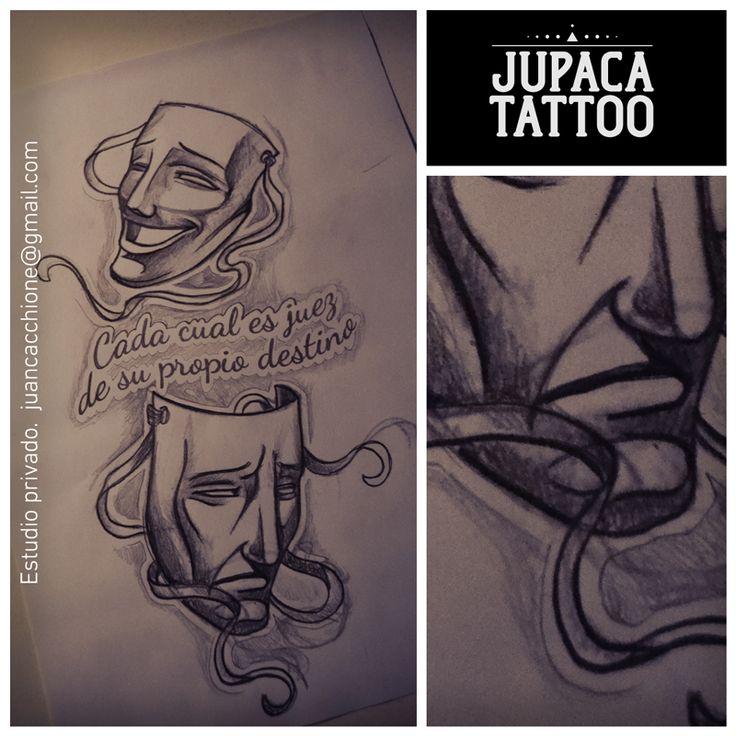 Juan Pablo Cacchione :: jupaca tattoo :: teatro :: comedia :: tragedia :: tattoo