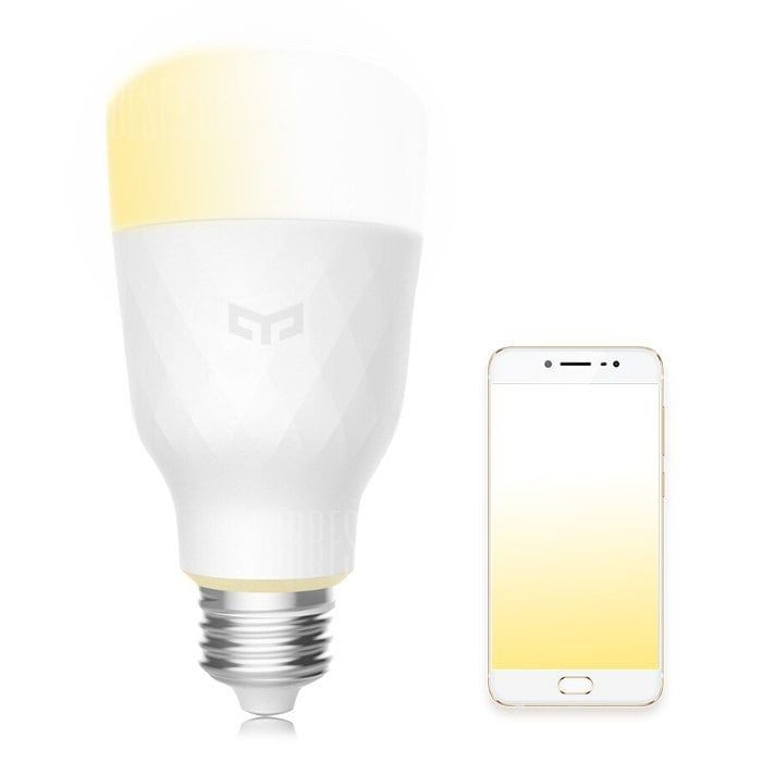 Yeelight Yldp05yl Smart Led Bulb Dimmable Ac 100 240v 10w E27white 16 41 Chinatech Led Economies D Energie Couleurs Claires