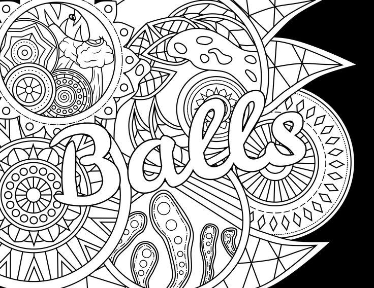 Sweary Coloring Book Download Sweary Coloring Book In