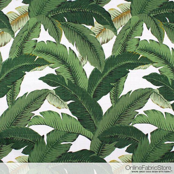 Tommy Bahama Outdoor balancement Palms Aloe Fabric - l