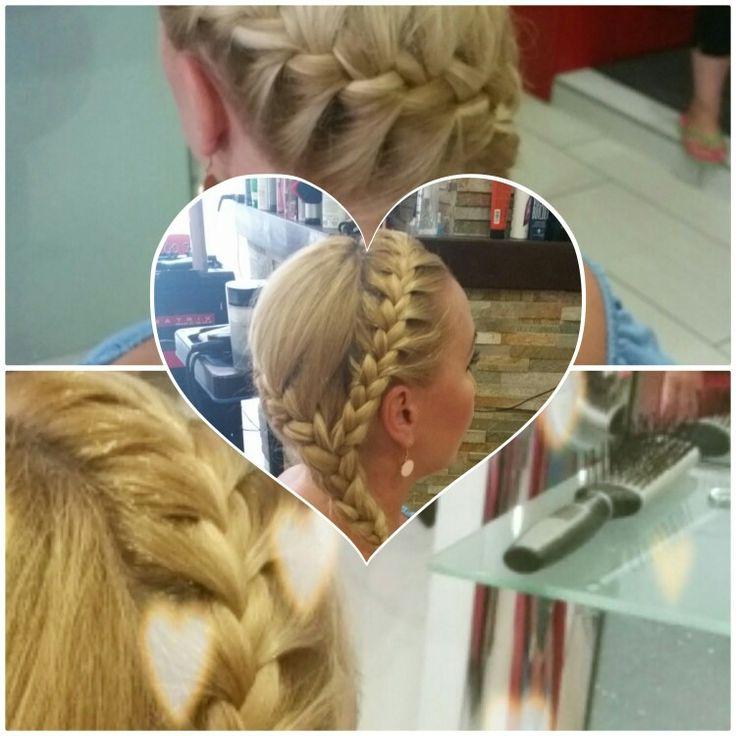 Hajfonàs #braid #beautyhairstyle #hajfonàs #hairstyle #wedding #alkalmi #SarkadyLívia