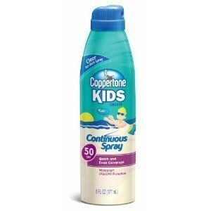Coppertone Kids Continuous Spray 50SPF - 3/7.5oz. Cans by Coppertone. $19.89