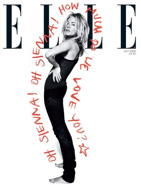 Elle (UK) #7, 2008  Creative Director  Marissa Bourke  Photographer  Jan Welters