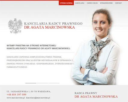 Kancelaria Radcy Prawnego Warszawa - www.macinowska.pl