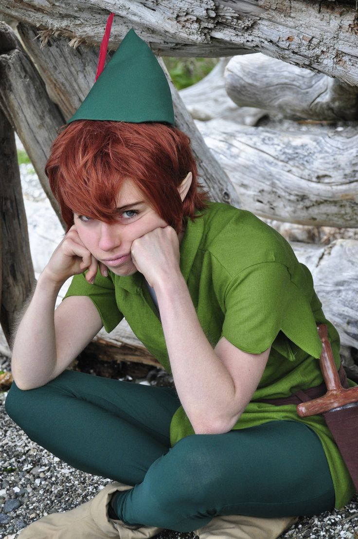 Pouty Pan by Theelfinartist.deviantart.com on @deviantART - Peter Pan cosplay