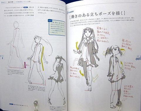 アニメーターが教えるキャラ描画の基本法則中身02