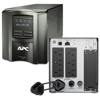 APC by Schneider Electric - 750va Smart Ups LCD 120v Us