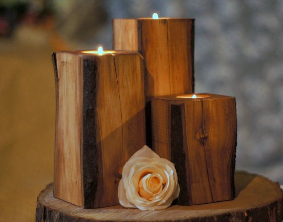 Hey, I found this really awesome Etsy listing at https://www.etsy.com/listing/232029371/wood-candle-holder-rustic-home-decor