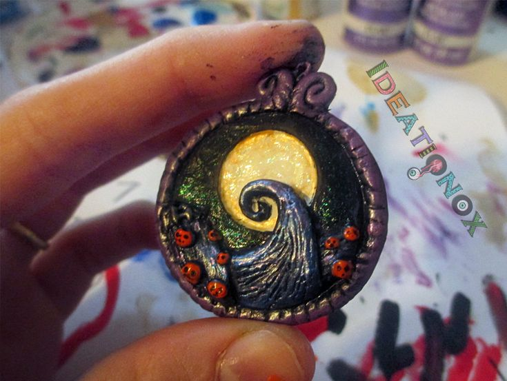 The Nightmare Before Christmas Hill Scene Charm. by Ideationox.deviantart.com on @deviantART