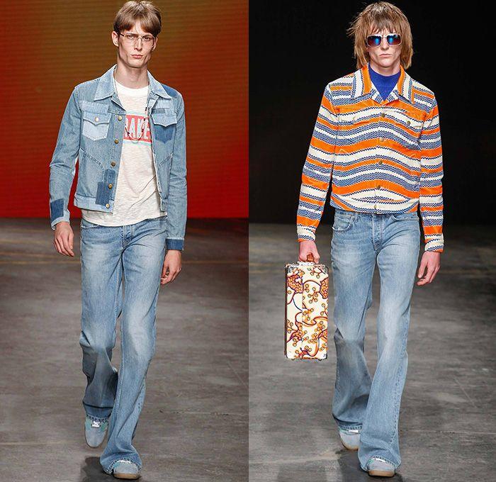 Britpop Mens Fashion