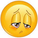 Pain Emoticon Stock Photo