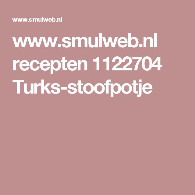 www.smulweb.nl recepten 1122704 Turks-stoofpotje