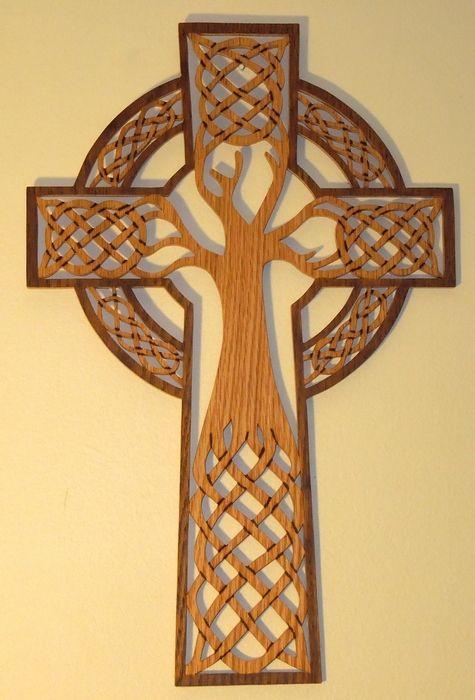 Tree of life & cross.. My next side tattoo?