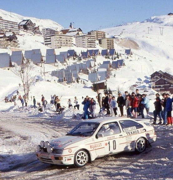 Ford Sierra Cosworth rally car - Group A