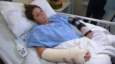 'I'm going to die': Tourist stabbed five times over mobile phone