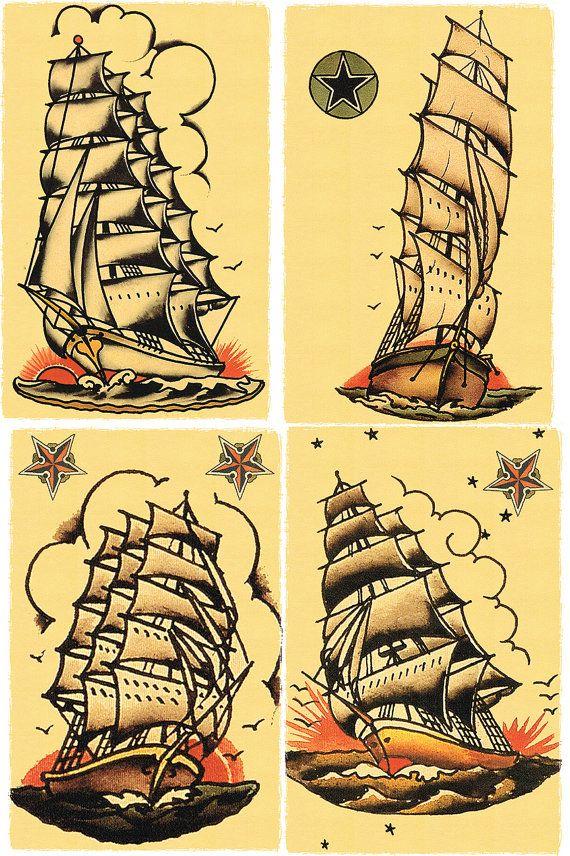 Decoraciones de marineros tumba naves por DocNSonApothecaryETC