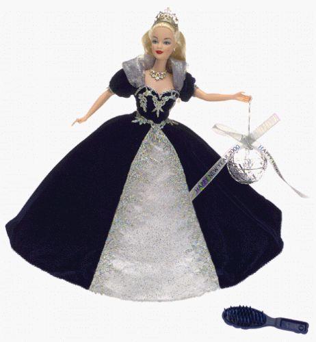 2000 Special Millennium Edition - Millennium Princess Barbie Mattel http://www.amazon.com/dp/B00001R3XB/ref=cm_sw_r_pi_dp_FJiOub0PVF2Y0