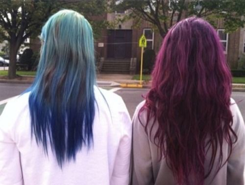 #colored hair #hair dye #dyed hair #hair colors #blue hair #green hair #pink hair #purple hair #colors #splat #nyc #New York City #friends #girls #modeling #style #fashion #outfit #hair #hair do #love my hair #old hair