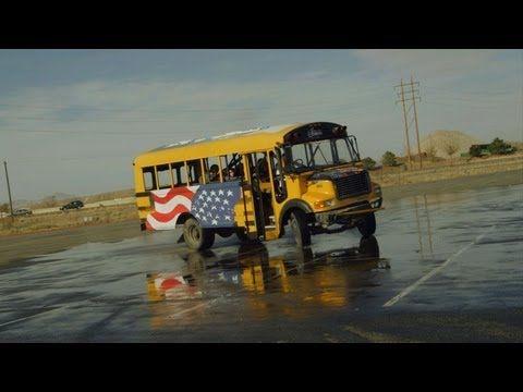 Video: Nitro Circus - Bus Drifting - via YouTube