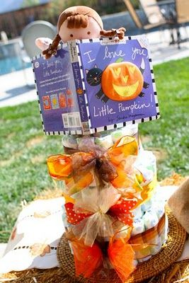 party love ♥: melissa's 'little pumpkin' baby shower
