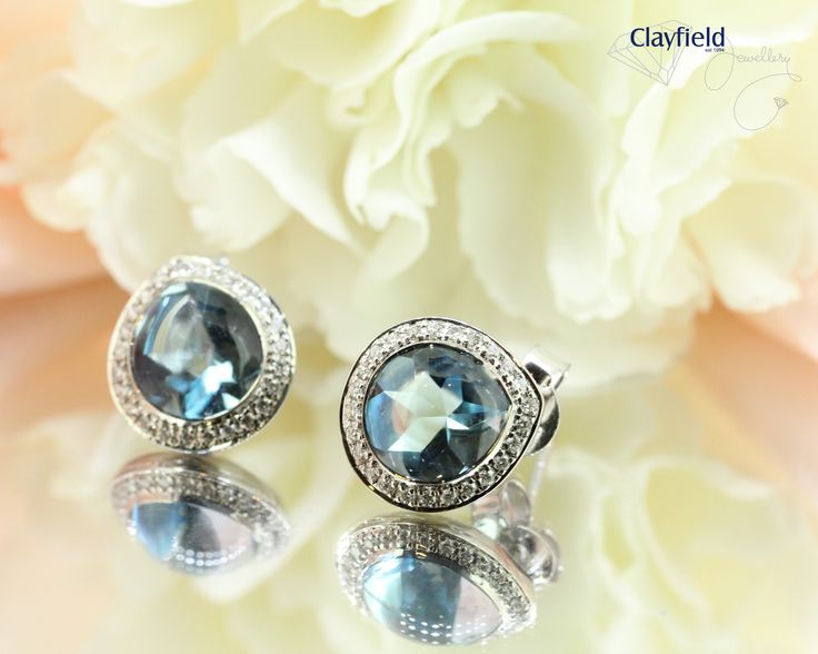 Stunning topaz and micro set diamonds, by Clayfield Jewellery in Nundah Village - North Brisbane