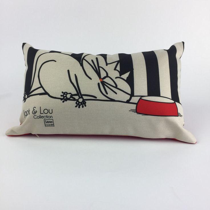Le chouchou de ma boutique https://www.etsy.com/ca-fr/listing/517782655/coussin-decoratif-coussin-chatrouge
