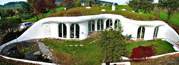 27 maisons souterraines absolument sensationnelles | Daily Geek Show