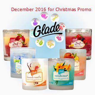 free Glade coupons december 2016