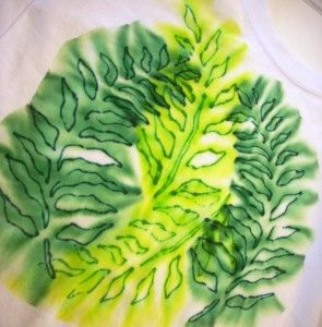 Sharpie Tie Dye Part Two - Vicki O'Dell... The Creative Goddess
