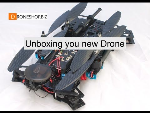 Droneshop.biz getting started with your new multirotor - YouTube
