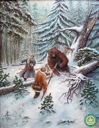Znalezione obrazy dla zapytania охота на медведя