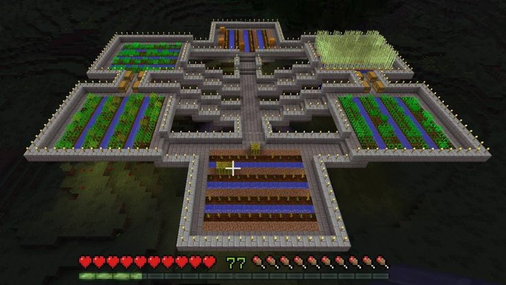 Minecraft Floating Farm                                                                                                                                                                                 More
