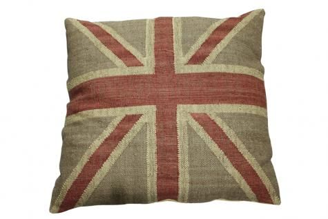 Union Jack Beige Cushion. A Block and Chisel Product. Now R795. www.findit4women.co.za