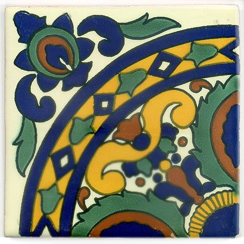 Best Mexiko Fliesen Images On Pinterest Mexico Tiles And Boden - Mexikanische fliesen 15x15
