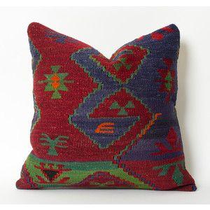 Kilim Pillow Shabby Chic Southwestern Throw Pillows Native American Kilim Pillow Case Vintage