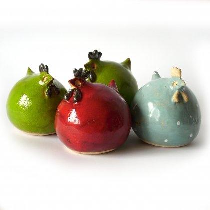 Kury ceramiczne / Ceramic hens