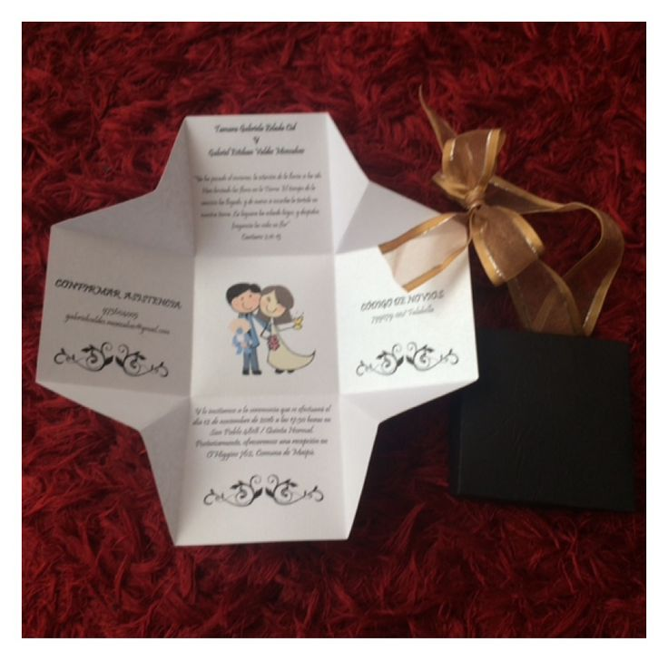 #partesdematrimonio #invitaciones #matrimonio #bodas #tarjetas #partescajita #partesoriginales #novios #novias