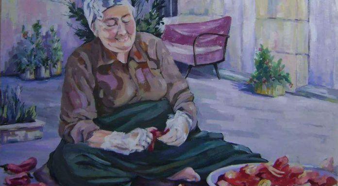 ايام جدتي وايام الخير الصدى نت Painting Art