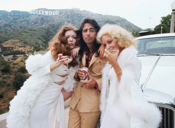 "soundsof71: "" Alice Cooper in Hollywood, 1974, by Neal Preston for Creem """