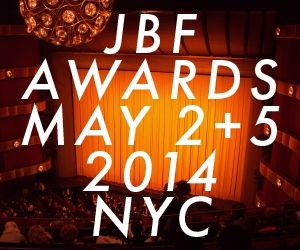 2014 JBFA Nominees for Best Pastry Chef:  Dominique Ansel, Dominique Ansel Bakery, NYC Dana Cree, Blackbird, Chicago Belinda Leong, b. patisserie, San Francisco Dahlia Narvaez, Osteria Mozza, Los Angeles Christina Tosi, Momofuku, NYC