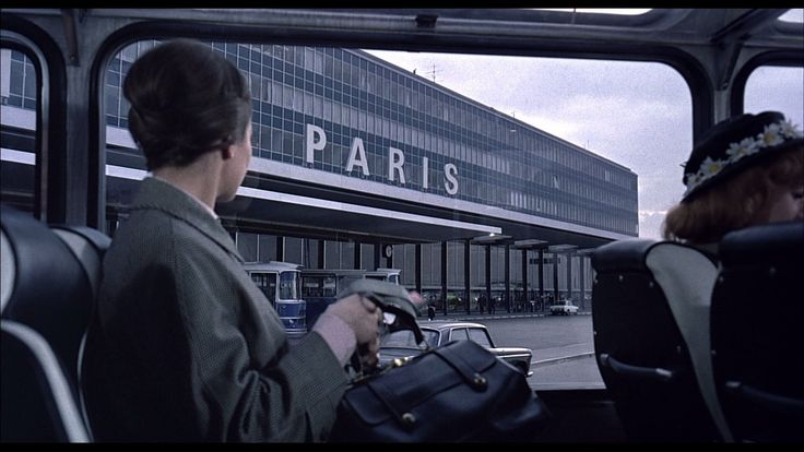 Paris Orly Airport (from Playtime, Jacques Tati)