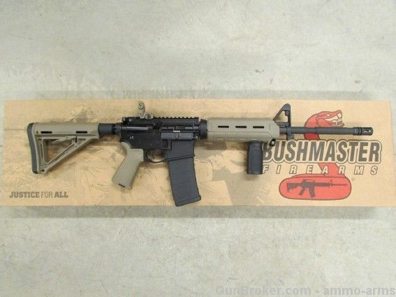 BUSHMASTER M4/AR-15 MOE FDE MAGPUL 5.56 NATO 90687