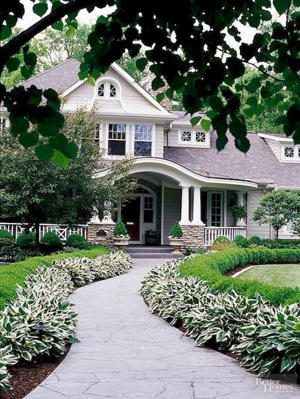 Front yard landscaping 26. Front Walkway LandscapingLandscaping IdeasFront  ...