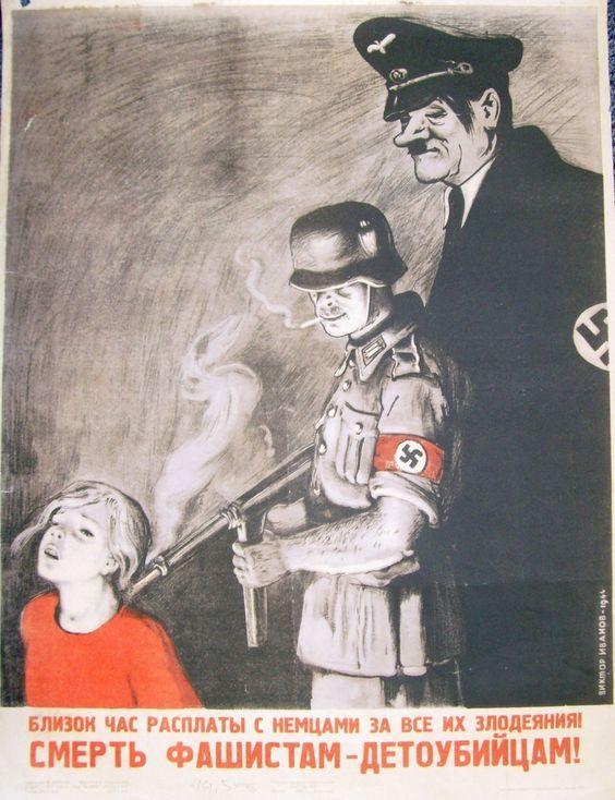 Sovet propaganda poster