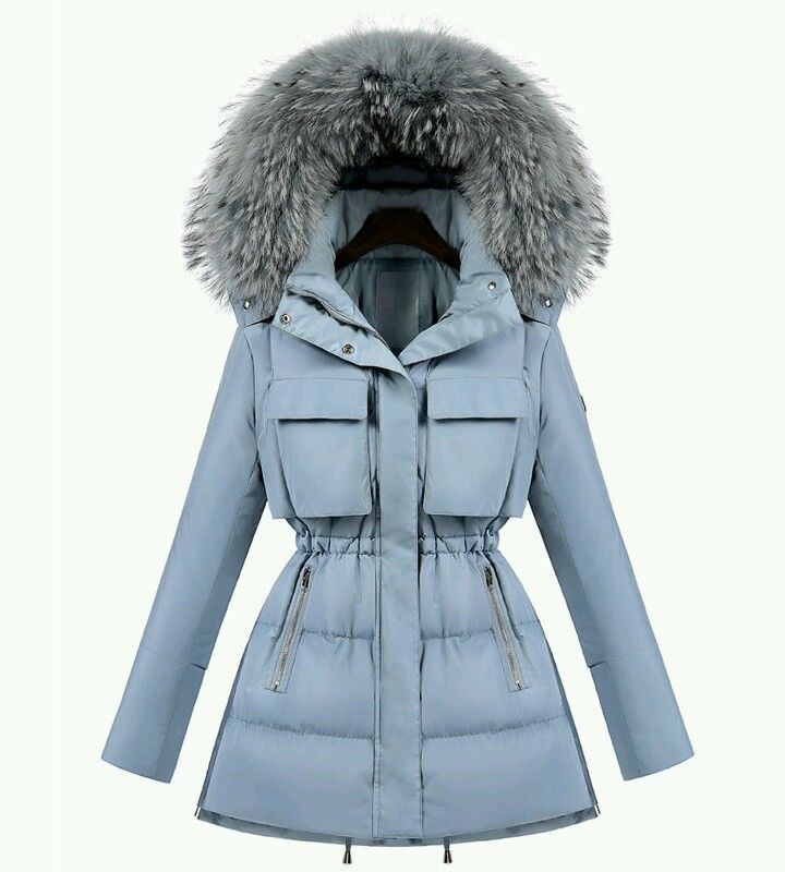 PIUMINO DONNA DI VERA PIUMA D'OCA CON PELLICCIA STUPENDA VARI COLORI E TAGLIE in Abbigliamento e accessori, Donna: Abbigliamento, Cappotti e giacche | eBay