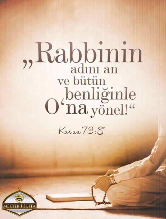 Kuran 73:8