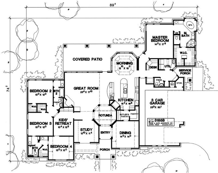 Kids Bedroom Plan 120 best house plans images on pinterest | home, condo floor plans